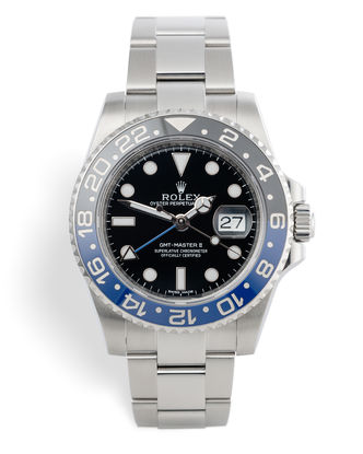 ref 116710BLNR | 'Full Set' Discontinued Model | Rolex GMT-Master II
