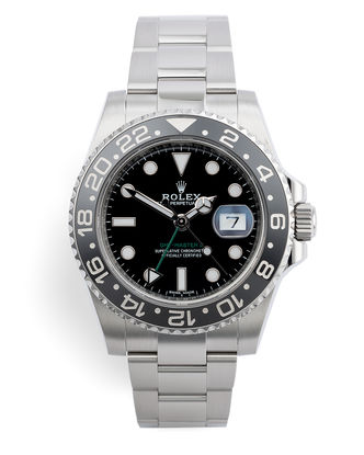ref 116710LN | Cerachrom 'Five Year Warranty' | Rolex GMT-Master II