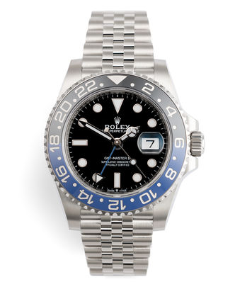 ref 126710BLNR | Batman Jubilee 'Full Set' 5 Year Warranty | Rolex GMT-Master II