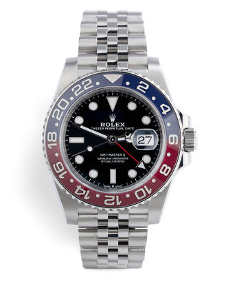 ref 126710BLRO | Latest Cerachrom Model | Rolex GMT-Master II