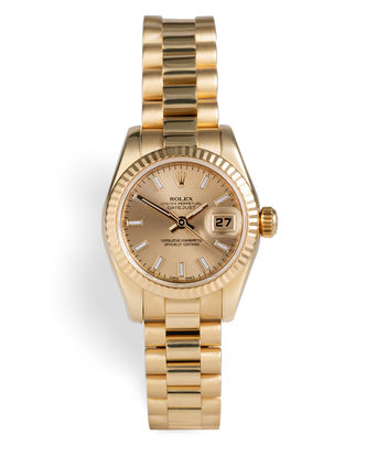 ref 179178 | 18ct Yellow Gold 'Complete Set' | Rolex Lady-Datejust