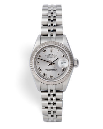 ref 79174 | White Gold Bezel 'Box & Papers' | Rolex Lady-Datejust
