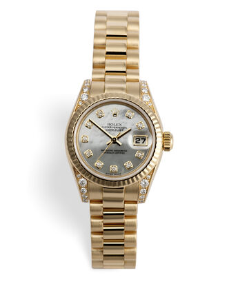 ref 179238 | Yellow Gold President | Rolex Lady-Datejust