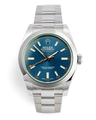ref 116400GV | Brand New, 5 Year Warranty | Rolex Milgauss