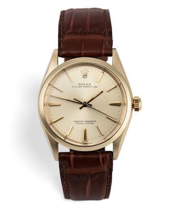 ref 1002 | Vintage 'Solid Gold' 34mm | Rolex Oyster Perpetual