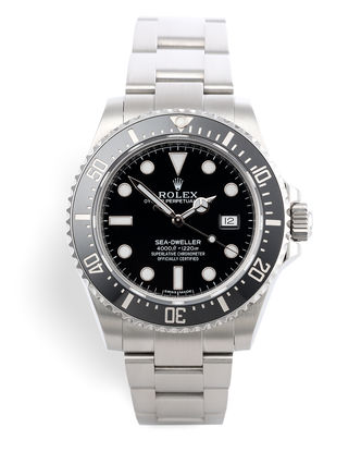ref 116600 | 'Two Year Rolex Service Warranty' | Rolex Sea-Dweller 4000