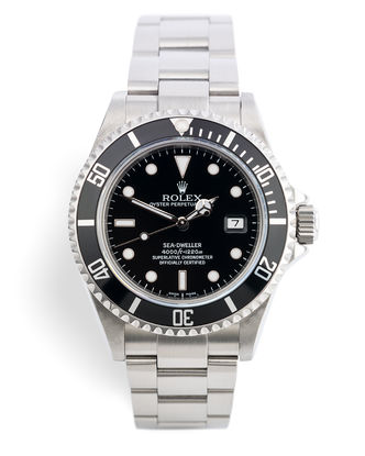 ref 16600 | Under Rolex Warranty 'Box & Certificate' | Rolex Sea-Dweller