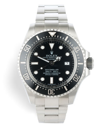 ref 116660 | 'Final Series' 44mm Box and Papers | Rolex Sea-Dweller Deepsea