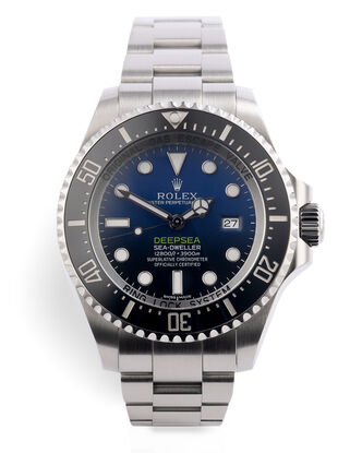 ref 116660 | 'Deep Blue' | Rolex Sea-Dweller Deepsea