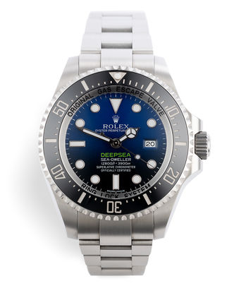 ref 116660 | James Cameron ' Complete Set' | Rolex Sea-Dweller Deepsea