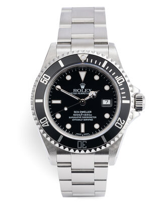 ref 16600 | Full Set 'Box & Certificate' | Rolex Sea-Dweller