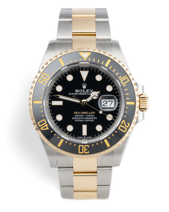 ref 126603 | Brand New 'Gold & Steel' | Rolex Sea-Dweller