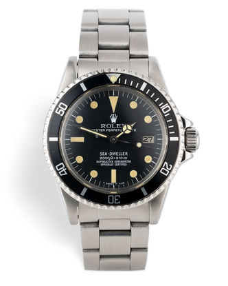 ref 1665 | Rare Mk II 'Great White' | Rolex Sea-Dweller