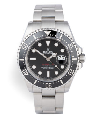 ref 126600 | Rolex Warranty to 2024 'New Calibre' | Rolex Sea-Dweller