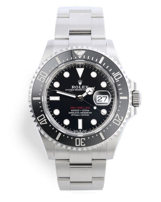 ref 126600 | Rolex Warranty to 2024 | Rolex Sea-Dweller