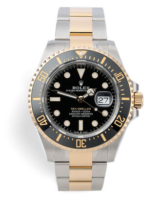 ref 126603 | Yellow Gold & Steel  | Rolex Sea-Dweller
