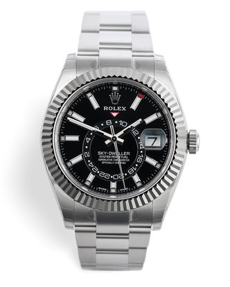 ref 326934 | New 'Fully Stickered' | Rolex Sky Dweller
