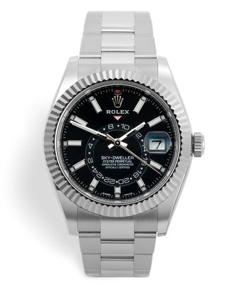 ref 326934 | New Steel Model '5 Year Warranty' | Rolex Sky Dweller
