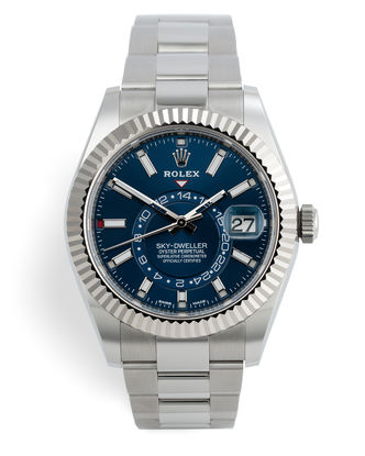 ref 326934 | Perfect 'Full Set' 5 Year Warranty | Rolex Sky Dweller