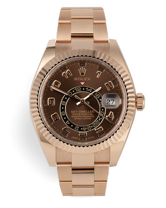 ref 326935 | Everose 5 Year Warranty | Rolex Sky-Dweller