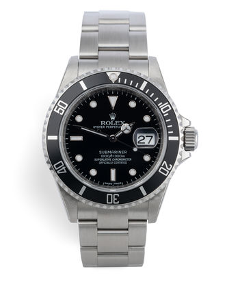 ref 16610 | Factory Stickered 'RRR' | Rolex Submariner Date