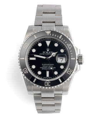 ref 116610LN | Just Service By Rolex | Rolex Submariner Date
