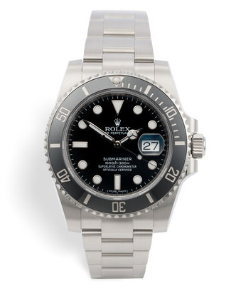 ref 116610LN | Rolex Warranty to 2021 | Rolex Submariner Date