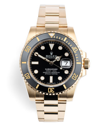 ref 116618LN | Rolex Warranty to 2024 | Rolex Submariner Date