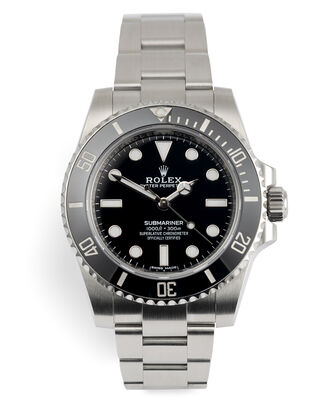 ref 114060 | Rolex Warranty to 2023 | Rolex Submariner