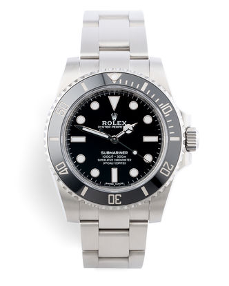 ref 114060 | Rolex Warranty to 2024 | Rolex Submariner