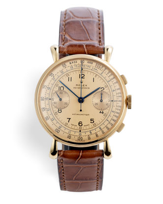 ref 4062 | 'Co-Signed Beyer Zurich' | Rolex Vintage Chronograph