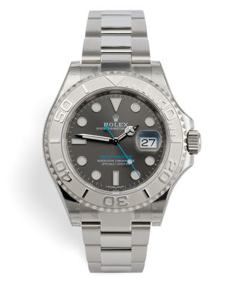 ref 116622 | Platinum Bezel 'Fully Stickered' | Rolex Yacht-Master