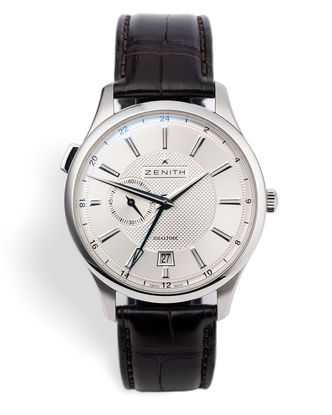 ref 03.2130.682 | 'Box & Papers'  | Zenith Captain Dual Time