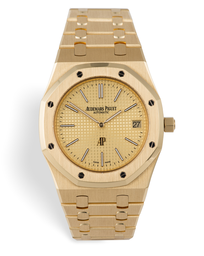 ref 15202BA.OO.1240BA.02.A | As New 39mm 'Jumbo Extra-Thin' | Audemars Piguet Royal Oak