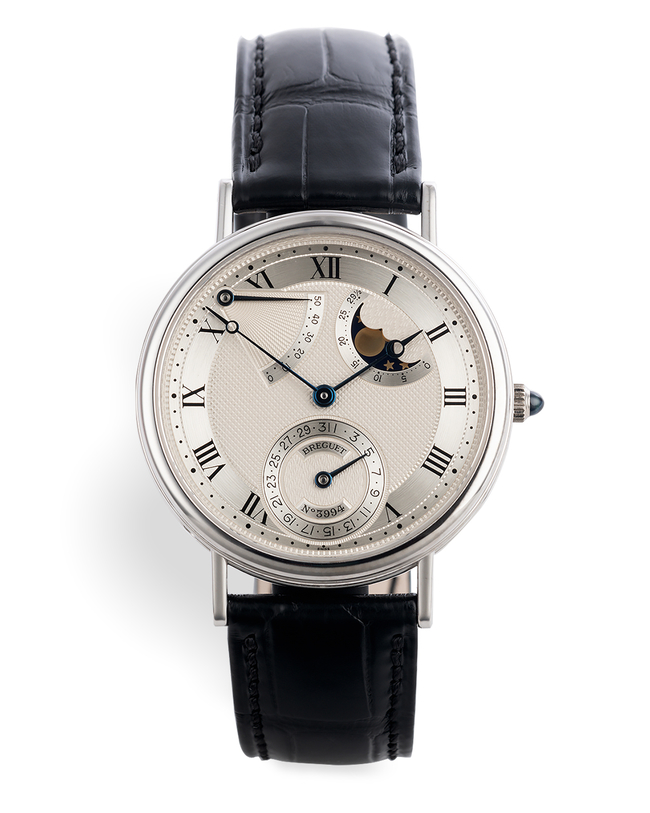"ref 3130BB/11/286 | White Gold ""Full Set"" 