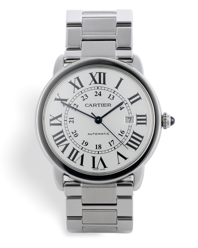 ref W6701011 | 'Automatic' Box & Papers | Cartier Ronde Solo