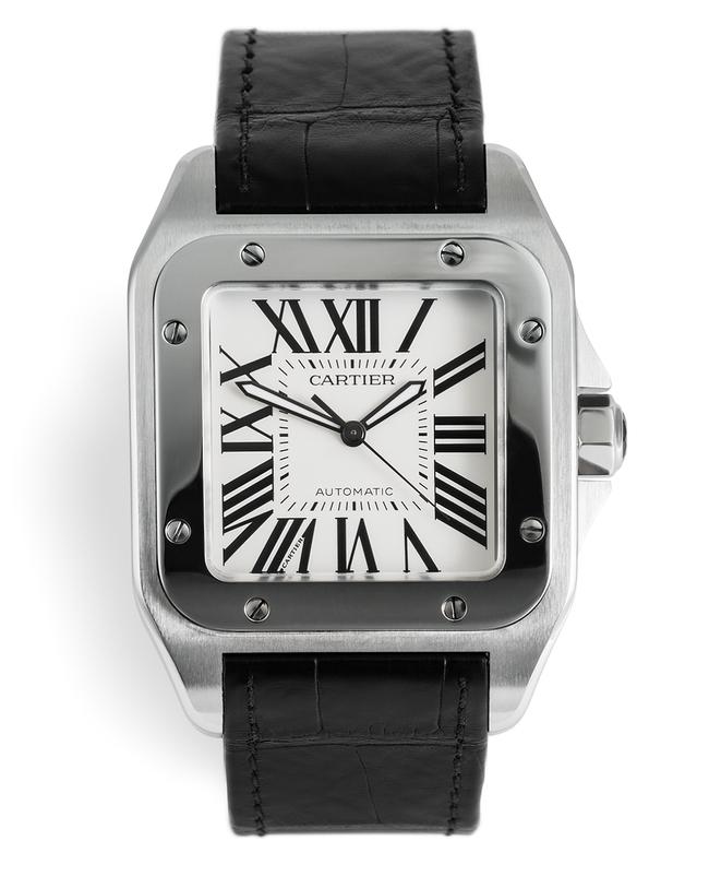 e5bf0ec11dc Cartier Santos 100 Watches