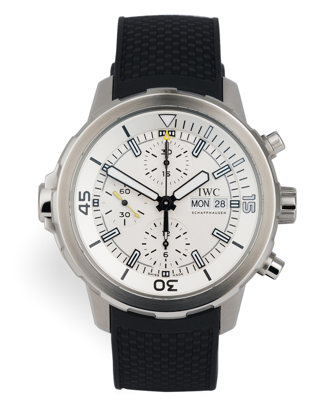 ref IW376801 | 44mm Box & Papers | IWC Aquatimer Chrono