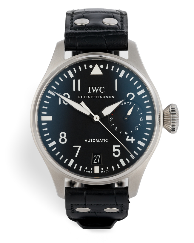 ref IW500401 | 7 Day Power Reserve  | IWC Big Pilot