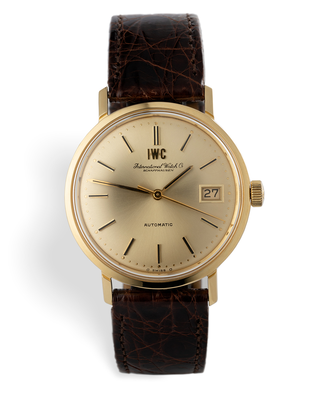 ref 1818 | Yellow Gold 'Original Box'  | IWC Vintage Automatic