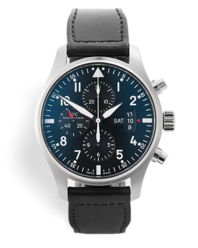 ref IW377701 | 43mm 'Discontinued Model' | IWC Pilot's Chronograph