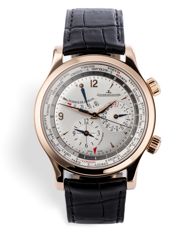 ref 146.2.36S 152 24 20 | Limited Edition 'Complete Set' | Jaeger-leCoultre Master Geographic