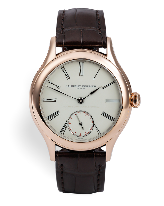 ref FBN916.01 | 'Double Spiral' Grand Feu Enamel Dial | Laurent Ferrier Galet Classic