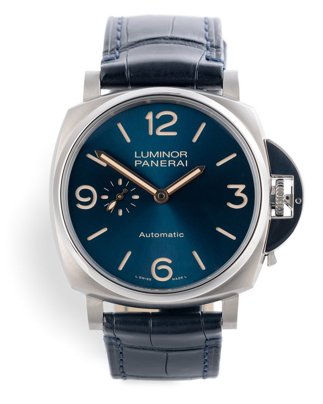 ref PAM00729 | 'Complete Set' Titanium | Panerai Luminor Due