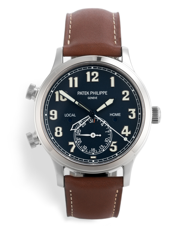 ref 5524G-001 | 'Under Patek Warranty' | Patek Philippe Calatrava Pilot Travel Time