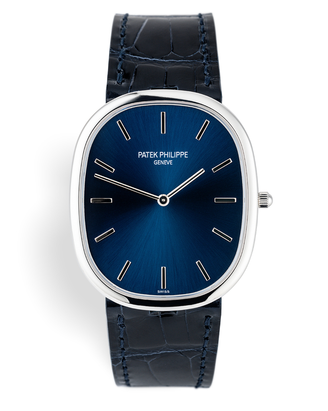 Gentlemans 'Complete Set' | ref 5738P-001 | Patek Philippe Golden Ellipse