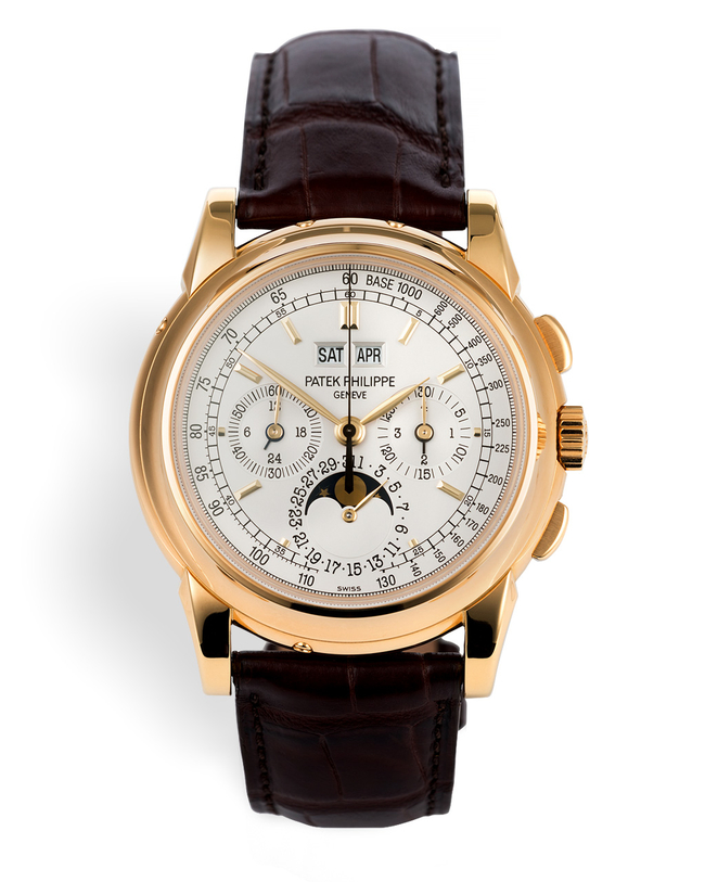 ref 5970J-001 | Yellow Gold 'Complete Set' | Patek Philippe Perpetual Calendar Chronograph