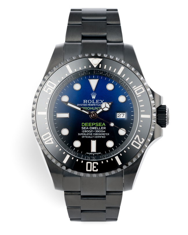 ref 116660  | One of 100 | Pro Hunter Sea-Dweller Deepsea D-Blue