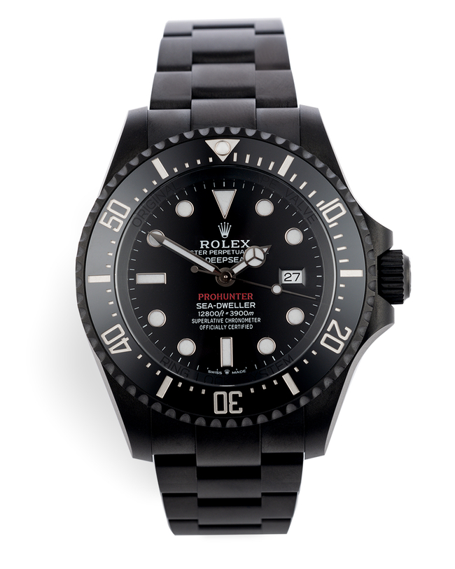 ref 126660 | Limited to 100 Pieces | Pro Hunter Sea-Dweller Deepsea Stealth