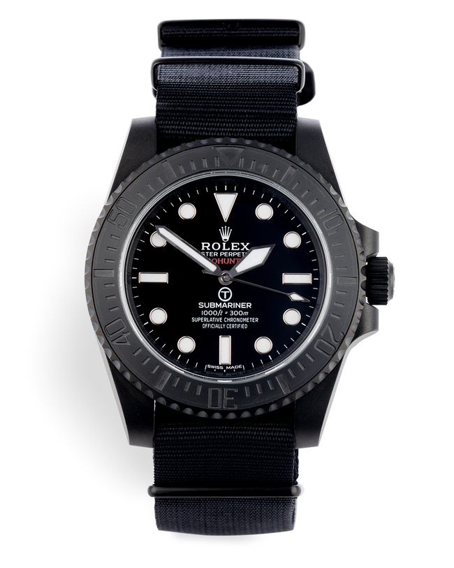 ref 114060 | Limited to 100 Pieces | Pro Hunter Submariner Military